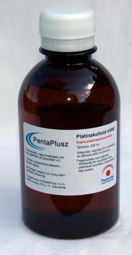 Platinakolloid oldat 2 dl