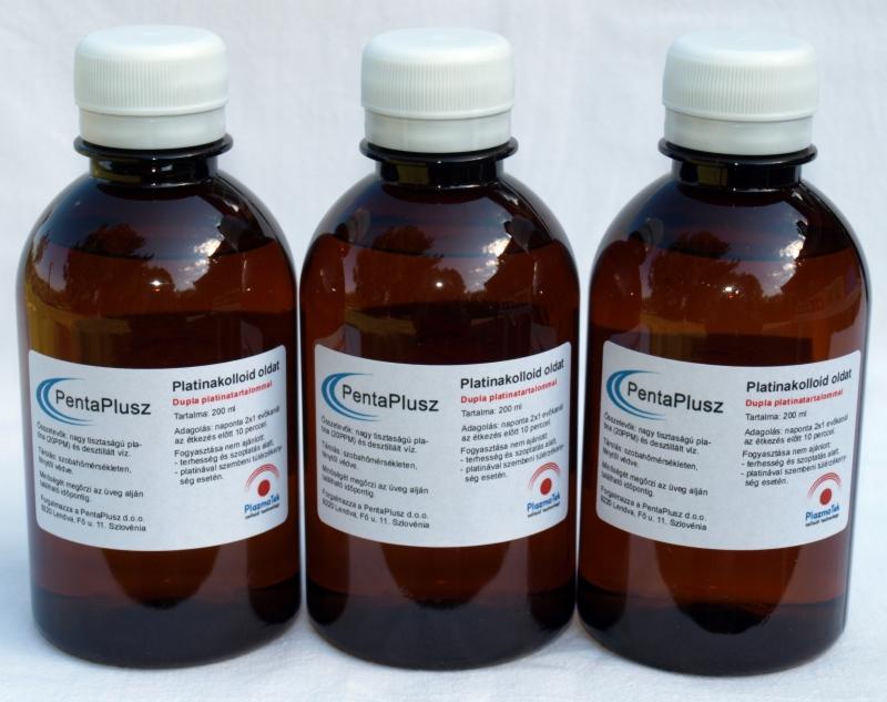 Platinakolloid oldat 3X2 dl