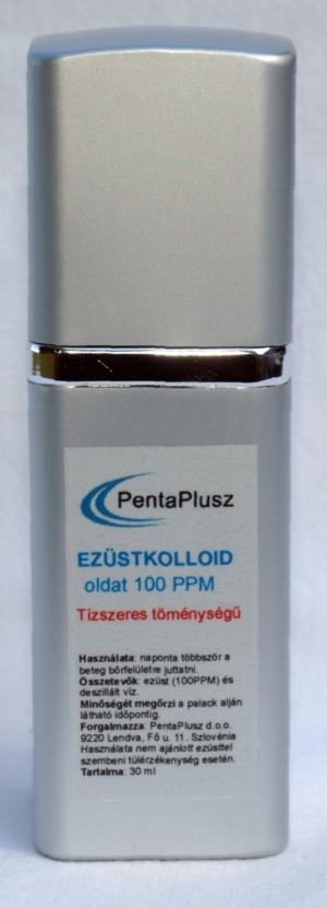 Ezüstkolloid spray tízszeres töménységű, 100PPM, 30 ml